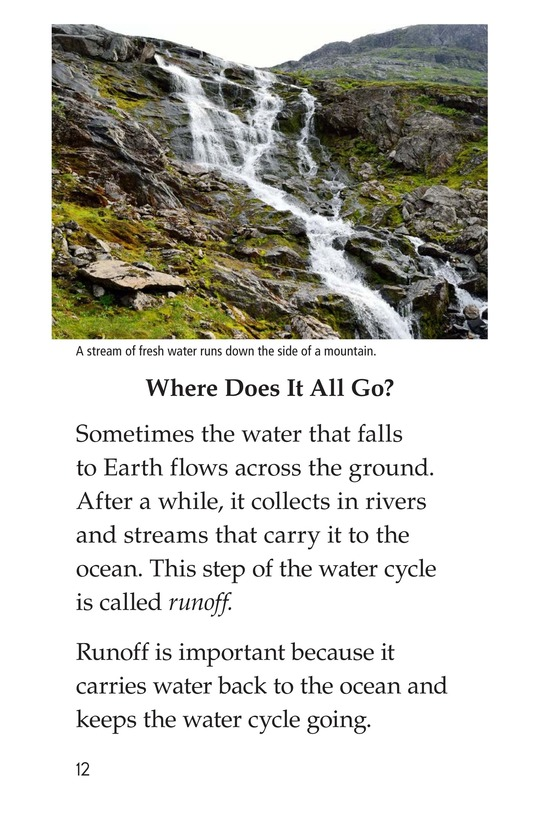 Book Preview For The Water Cycle Page 12
