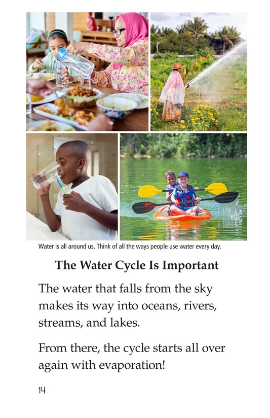 Book Preview For The Water Cycle Page 14