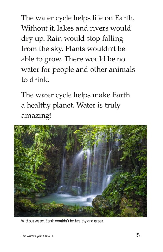 Book Preview For The Water Cycle Page 15