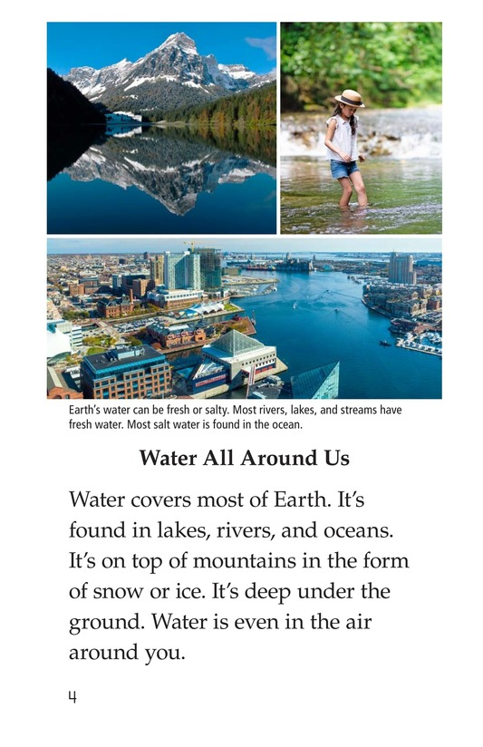 Book Preview For The Water Cycle Page 4