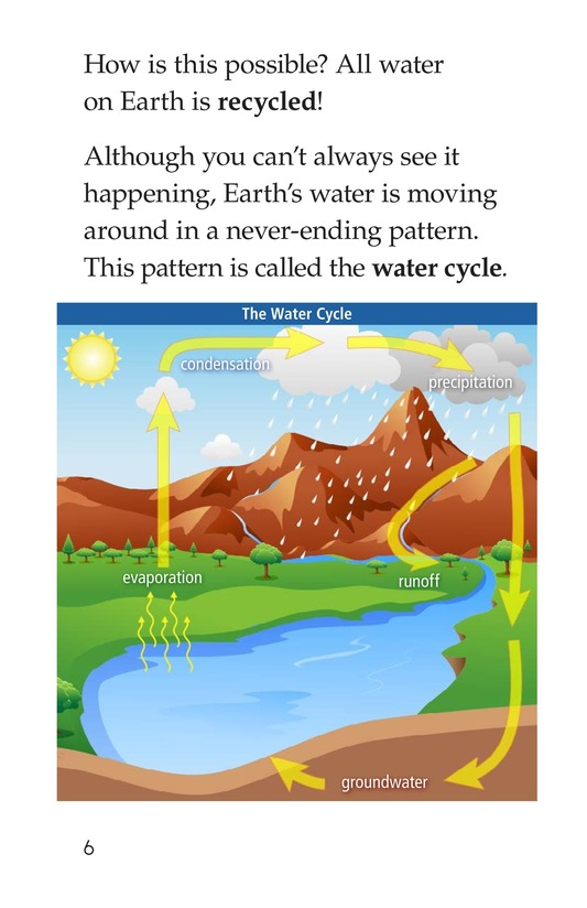 Book Preview For The Water Cycle Page 6