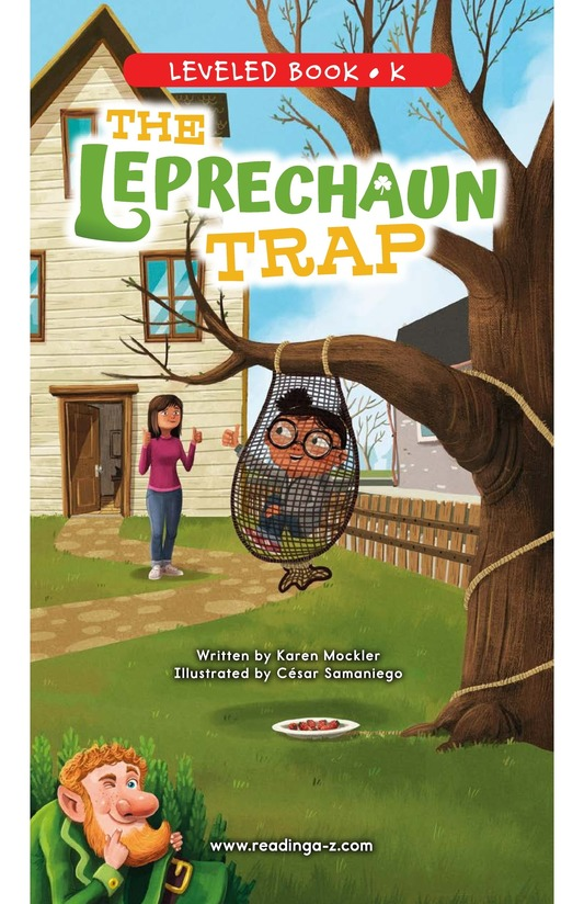 Book Preview For The Leprechaun Trap Page 0