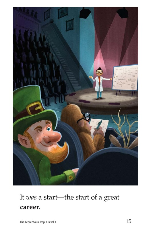 Book Preview For The Leprechaun Trap Page 15