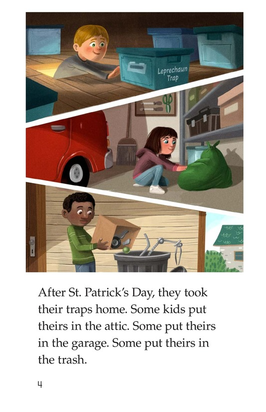 Book Preview For The Leprechaun Trap Page 4