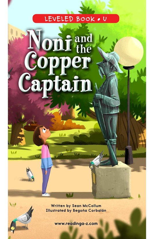 Book Preview For Noni and the Copper Captain Page 0