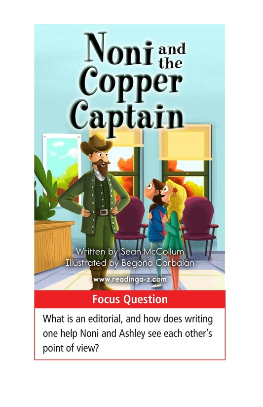 Book Preview For Noni and the Copper Captain Page 1