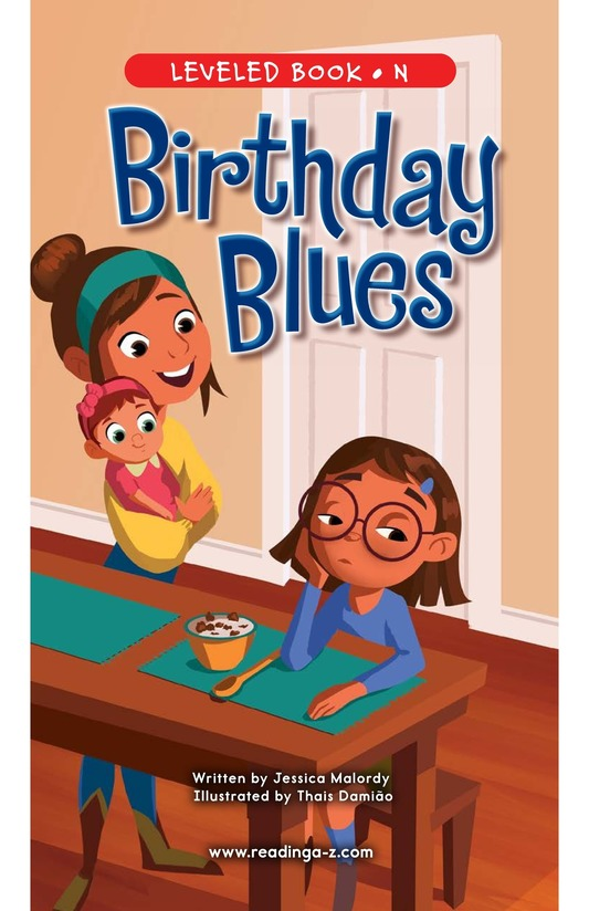 Book Preview For Birthday Blues Page 0
