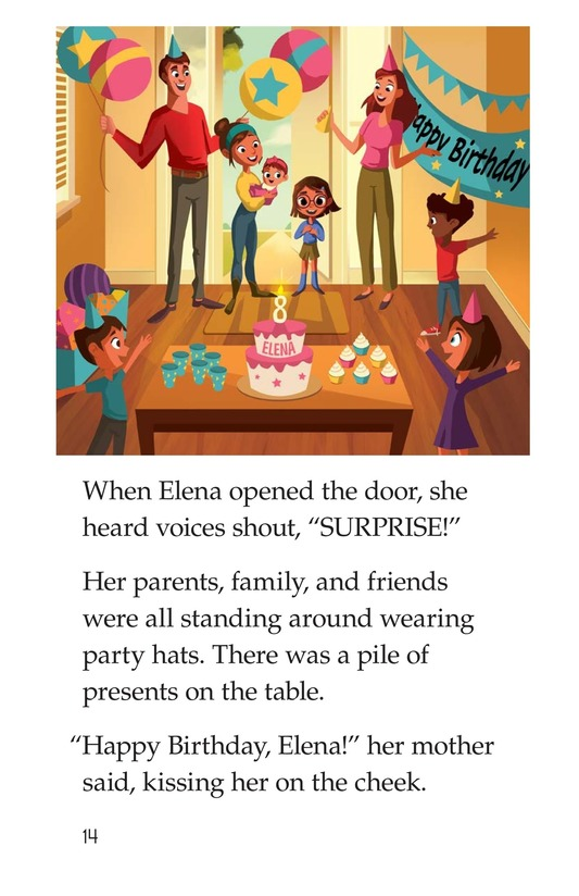 Book Preview For Birthday Blues Page 14