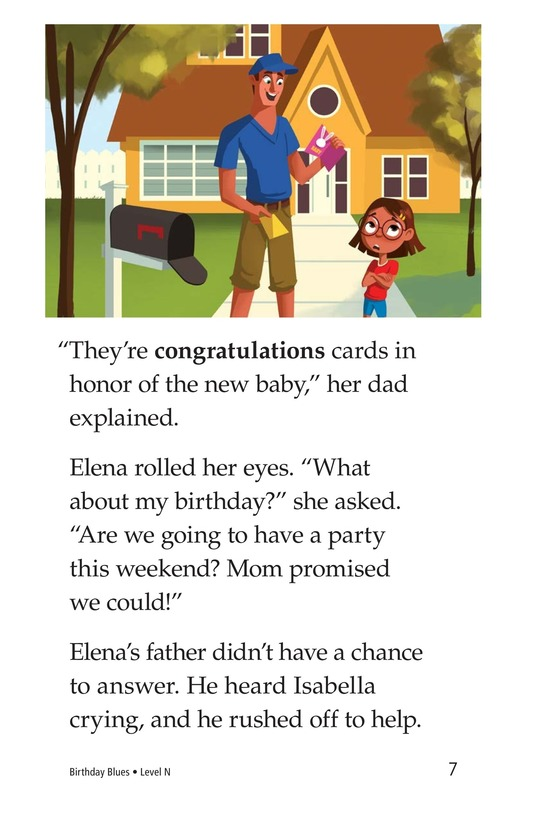 Book Preview For Birthday Blues Page 7