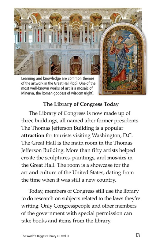 Book Preview For The World's Biggest Library Page 13