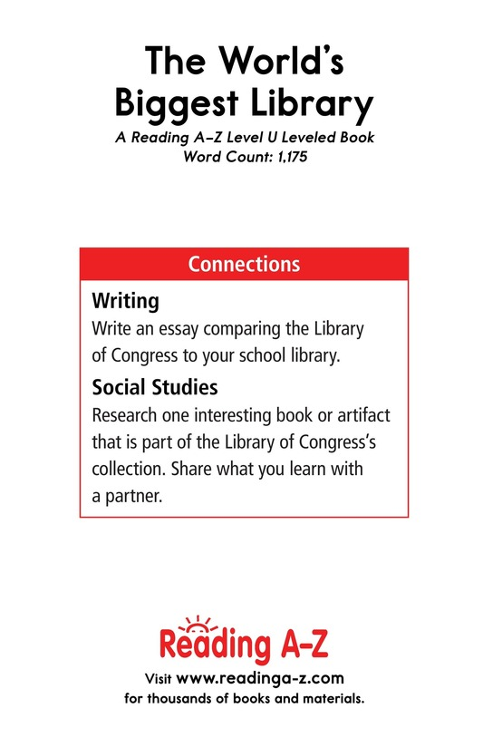 Book Preview For The World's Biggest Library Page 17