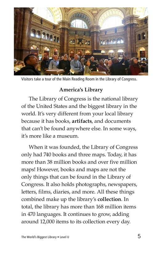 Book Preview For The World's Biggest Library Page 5