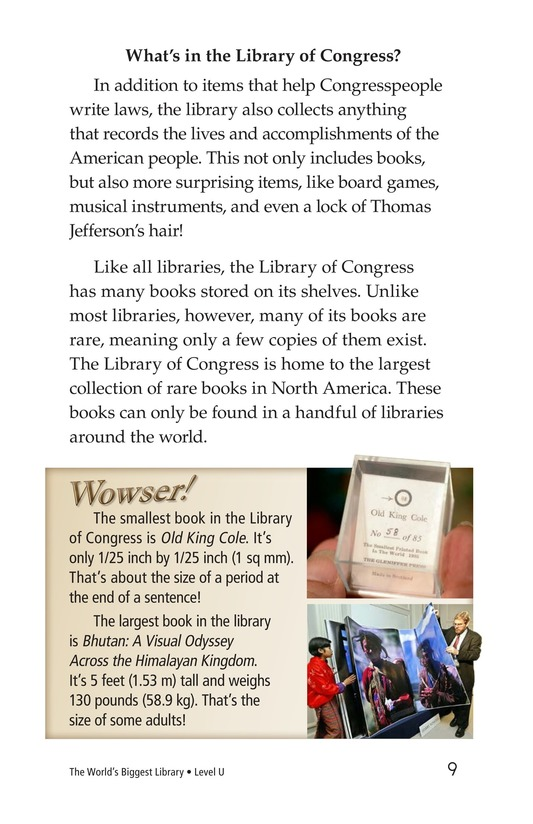 Book Preview For The World's Biggest Library Page 9