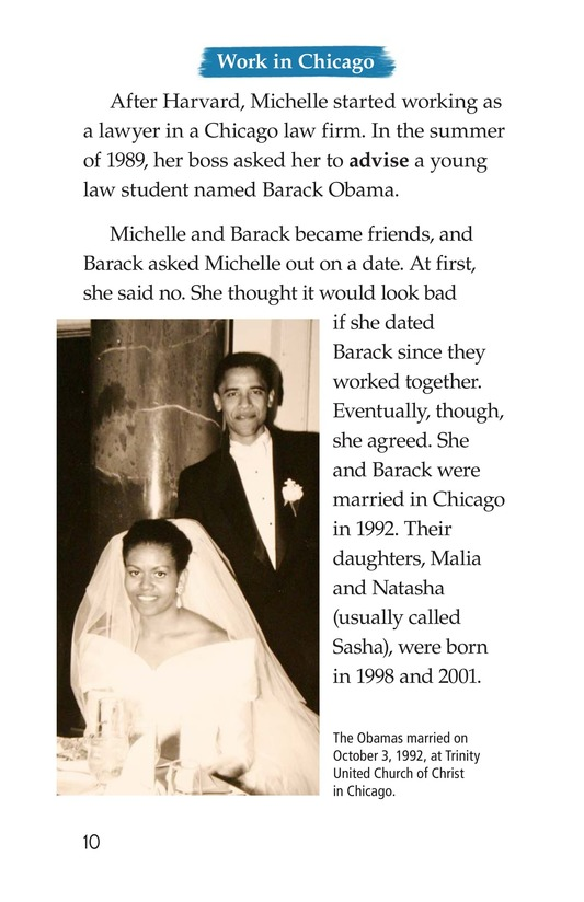 Book Preview For Michelle Obama Page 10