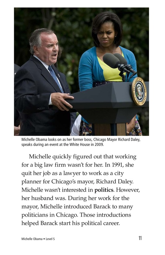 Book Preview For Michelle Obama Page 11