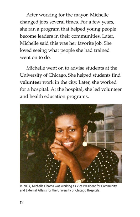 Book Preview For Michelle Obama Page 12