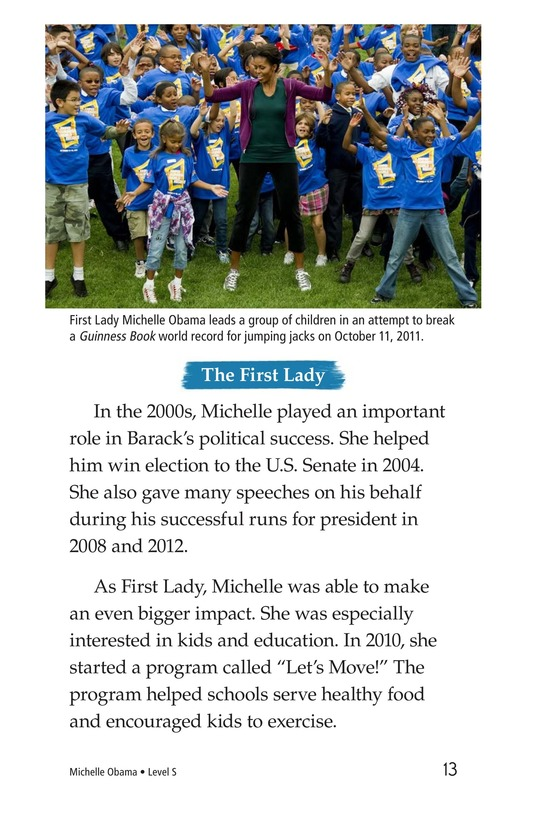 Book Preview For Michelle Obama Page 13
