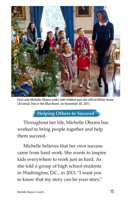 Book Preview For Michelle Obama Page 15