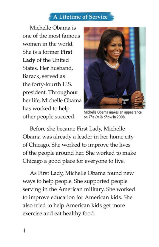 Book Preview For Michelle Obama Page 4