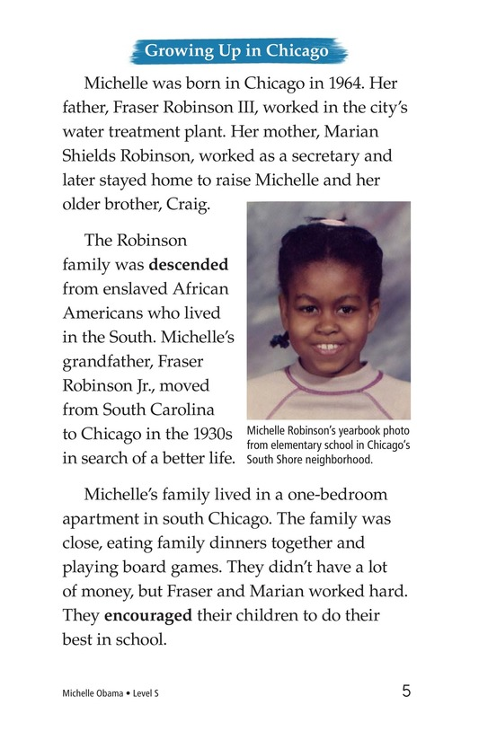 Book Preview For Michelle Obama Page 5