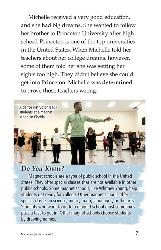 Book Preview For Michelle Obama Page 7
