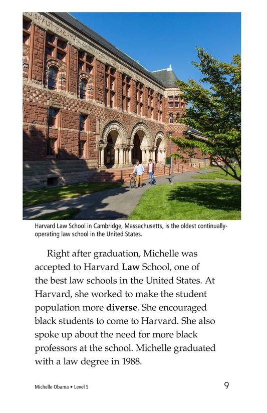Book Preview For Michelle Obama Page 9
