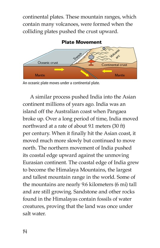 Book Preview For Plate Tectonics Page 2
