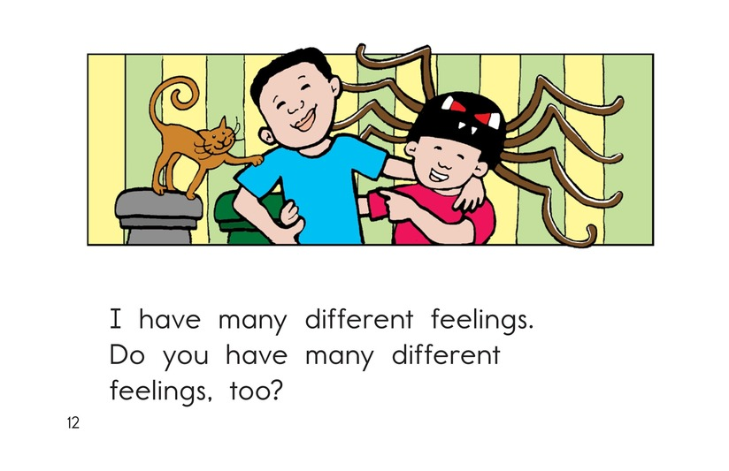 Book Preview For Feelings Page 12