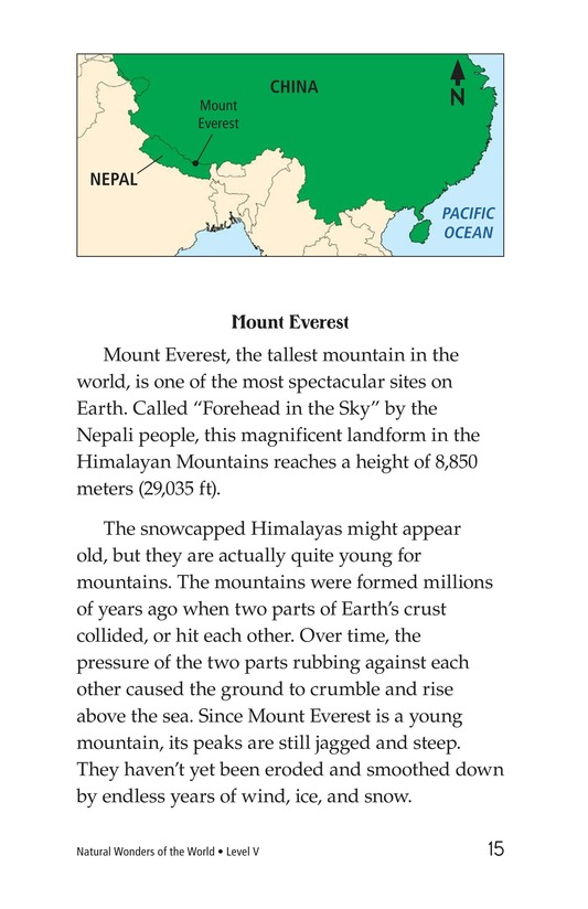 Book Preview For Natural Wonders of the World Page 2