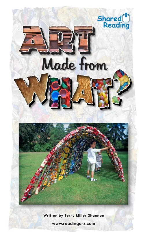 Book Preview For Art Made from What? Page 1