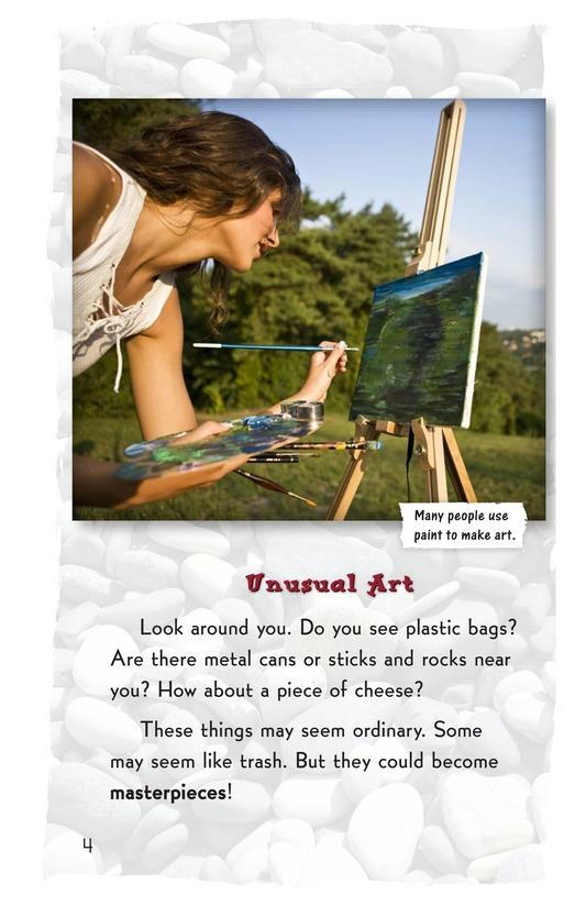 Book Preview For Art Made from What? Page 2