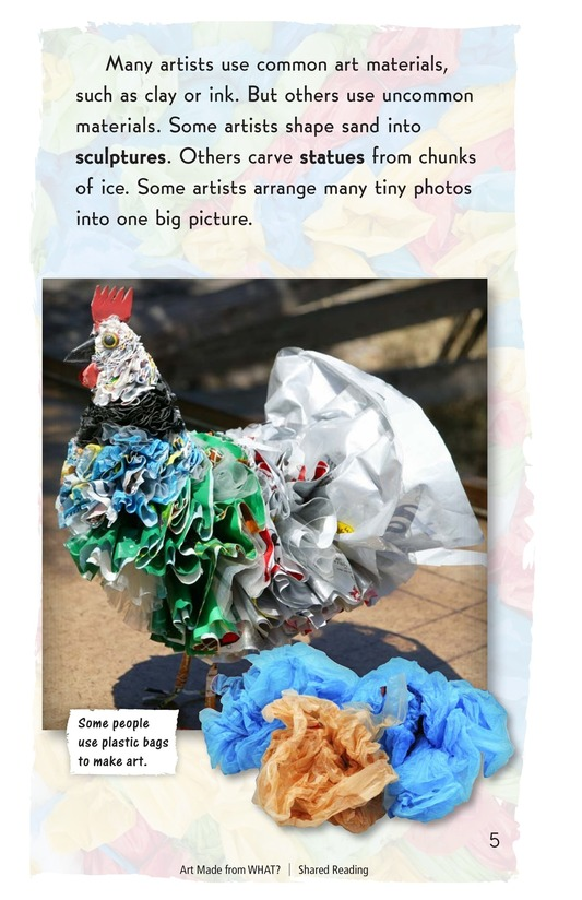 Book Preview For Art Made from What? Page 3