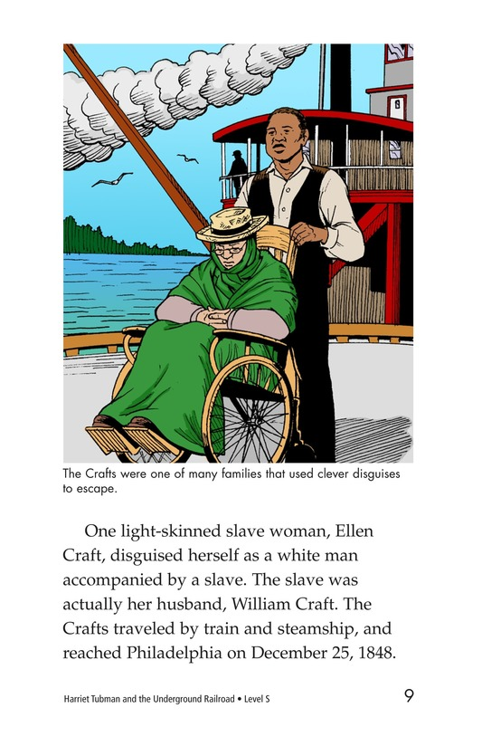 Book Preview For Harriet Tubman and the Underground Railroad Page 7