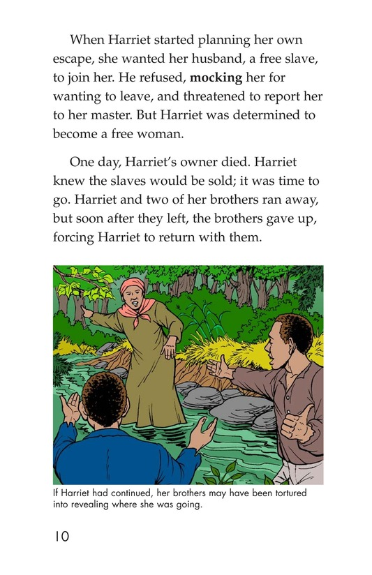 Book Preview For Harriet Tubman and the Underground Railroad Page 8