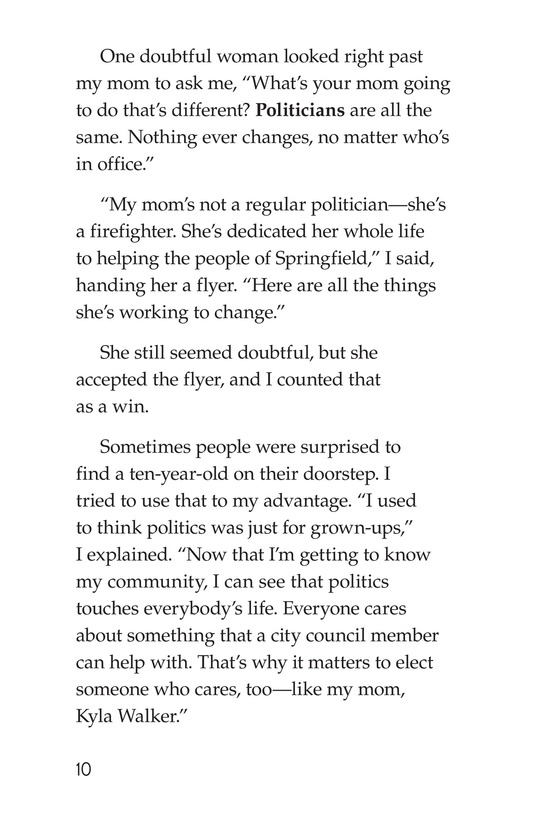 Book Preview For Mom for City Council Page 10