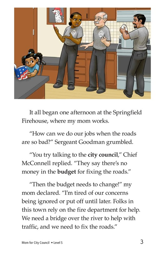 Book Preview For Mom for City Council Page 3