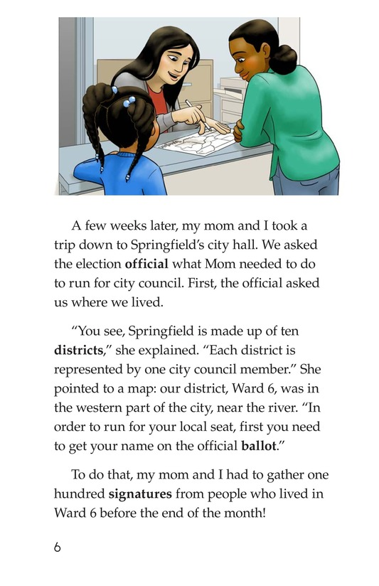 Book Preview For Mom for City Council Page 6