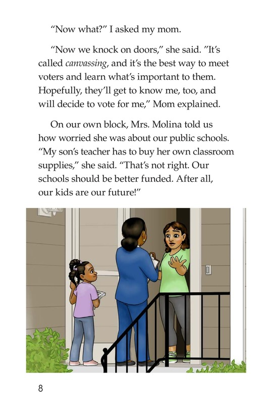 Book Preview For Mom for City Council Page 8