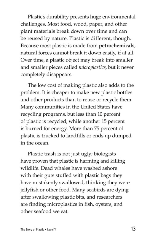 Book Preview For The Story of Plastic Page 8