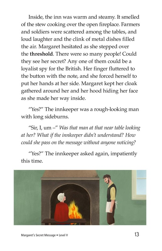 Book Preview For Margaret's Secret Message Page 13