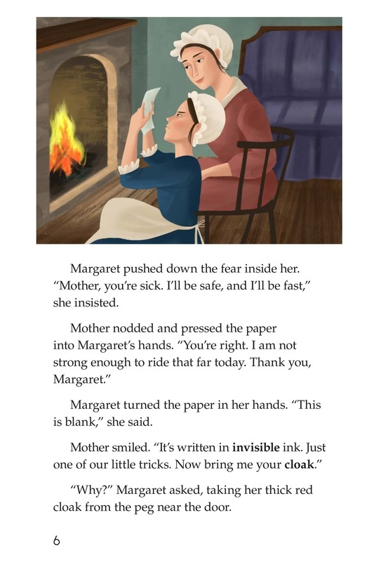 Book Preview For Margaret's Secret Message Page 6