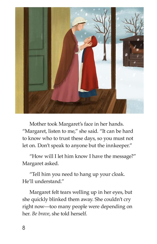 Book Preview For Margaret's Secret Message Page 8