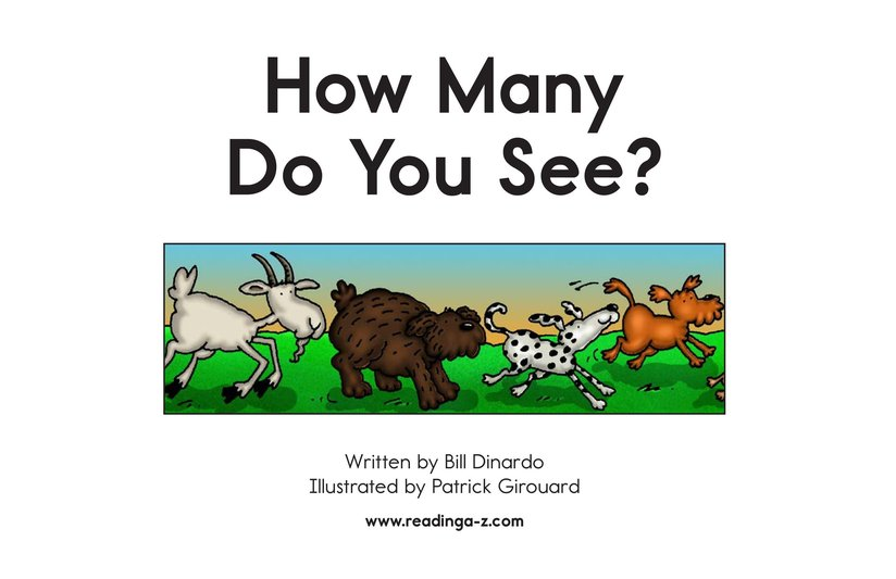 Book Preview For How Many Do You See? Page 2