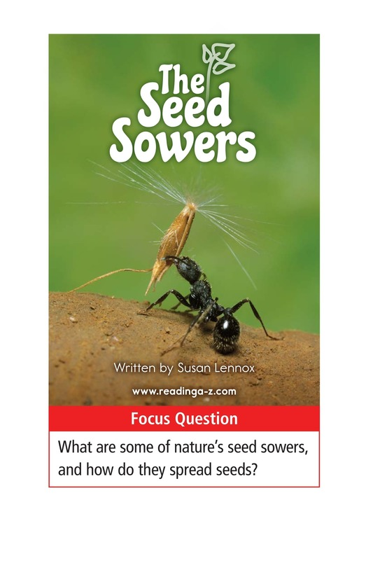Book Preview For The Seed Sowers Page 1