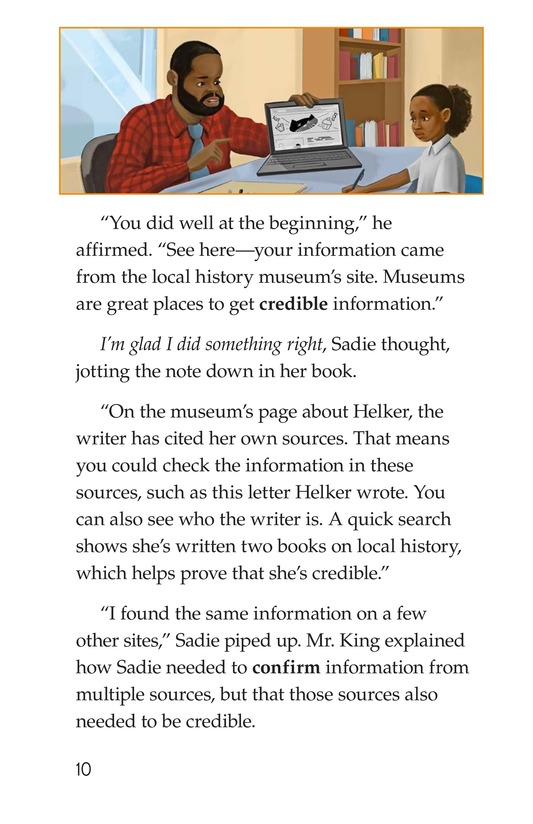 Book Preview For Sadie's Incredible Essay Page 10