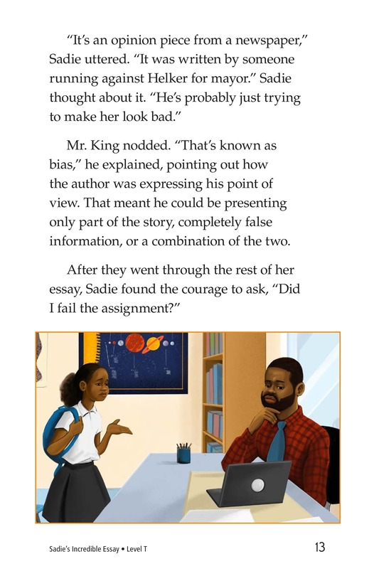 Book Preview For Sadie's Incredible Essay Page 13