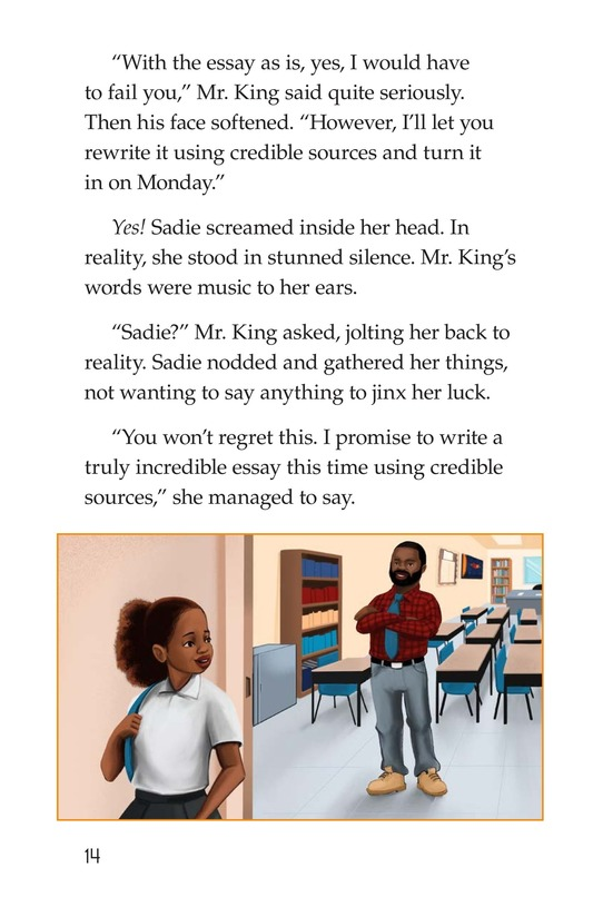 Book Preview For Sadie's Incredible Essay Page 14