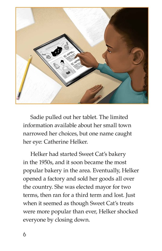 Book Preview For Sadie's Incredible Essay Page 6