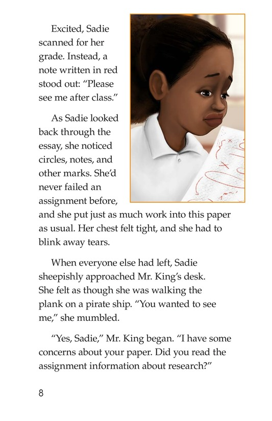 Book Preview For Sadie's Incredible Essay Page 8