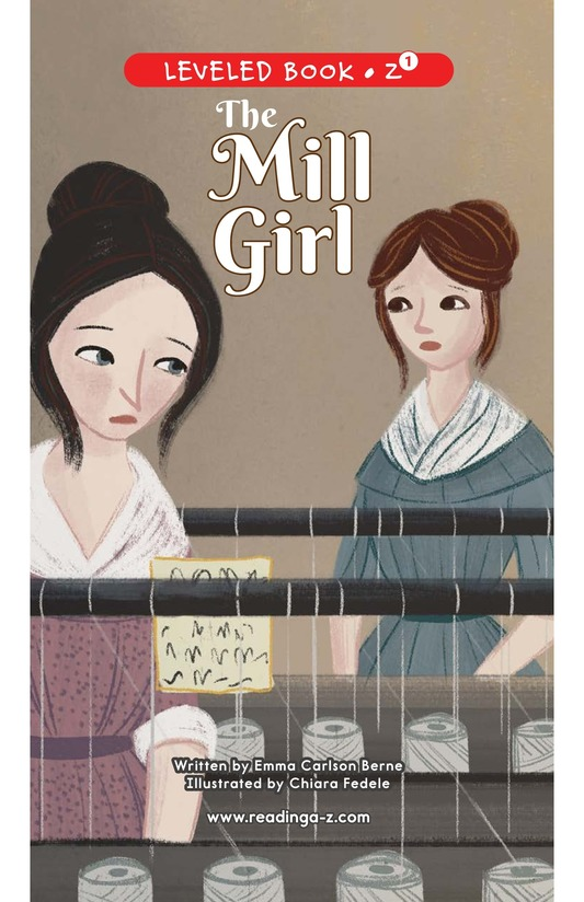 Book Preview For The Mill Girl Page 0